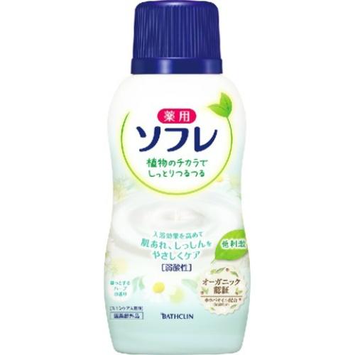 薬用ソフレ スキンケア入浴液 ほっとするハーブの香り 720ml