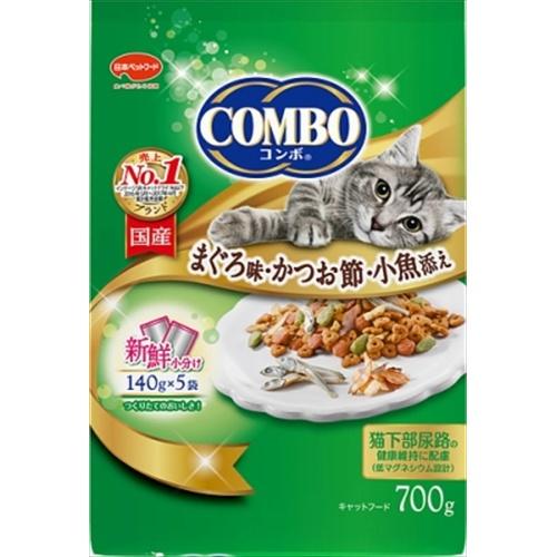 コンボ キャット まぐろ味・かつお節・小魚添え 700g